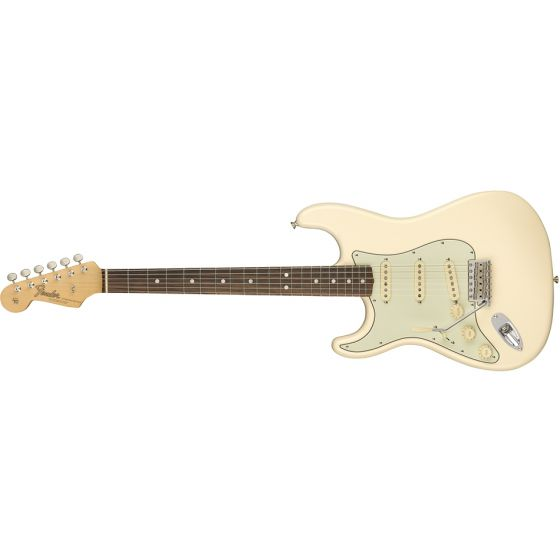 Fender American Original 60's Stratocaster, Left-Handed, Rosewood neck, w/ case, Olympic White