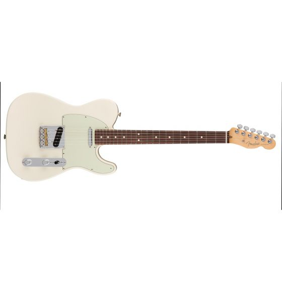 Fender American Professional Telecaster Guitar Rosewood Olympic White
