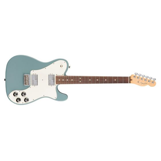 Fender American Professional Telecaster Deluxe Shawbucker Guitar Rosewood Sonic Gray front