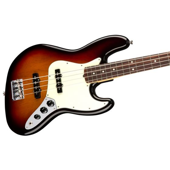Fender American Professional Jazz Bass Rosewood 3-Color Sunburst Angle2