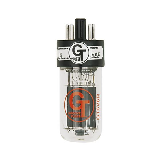 Groove Tube GT-6V6-RD-M- Matched Power Tubes