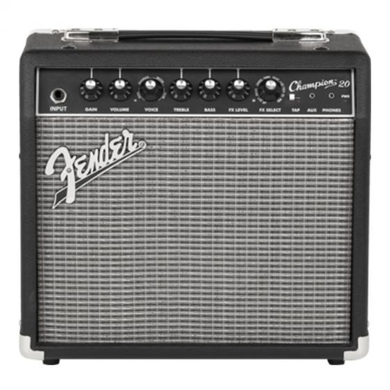 """Fender Champion 20 Solid State 1x8"""" Combo Amplifier"""