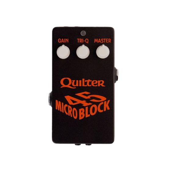 Quilter Labs Microblock 45 Pedal Size Power Amp front facing