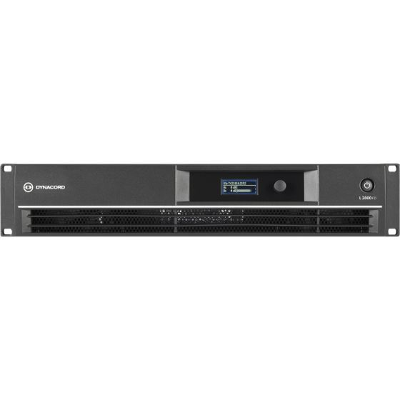 Dynacord L2800FD DSP Power Amplifier 2x1400W