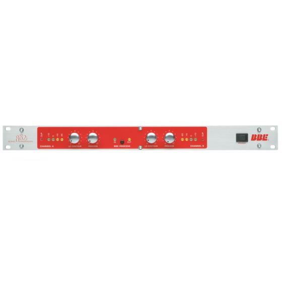 BBE 882i Dual-Mono Sonic Maximizer with XLR Inputs and Outputs