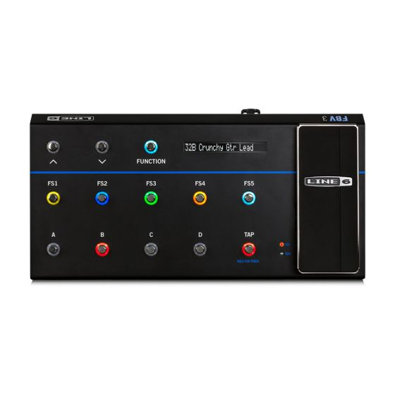 LINE 6 FBV 3 Footswitch Controller Floor Pedal