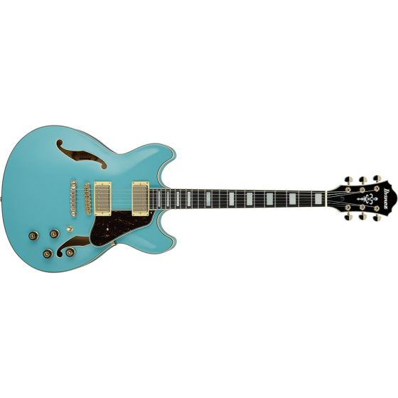 Ibanez AS73 AS Artcore Semi-Hollow Body Electric Guitar Mint Blue