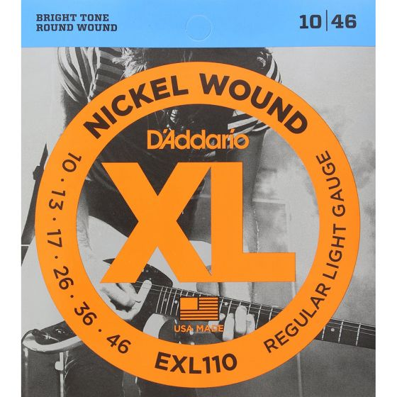 D'Addario EXL110 SET ELEC GTR XL REG LITE Electric Guitar Strings