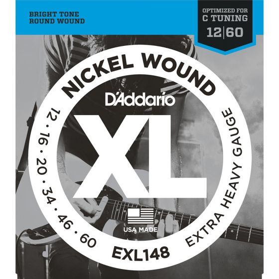 D'Addario EXL148 SET ELEC GTR XL EXTRA HEAVY Electric Guitar Strings