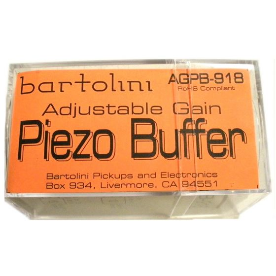 BARTOLINI AGPB/918 Adjustable Gain Piezo Buffer (