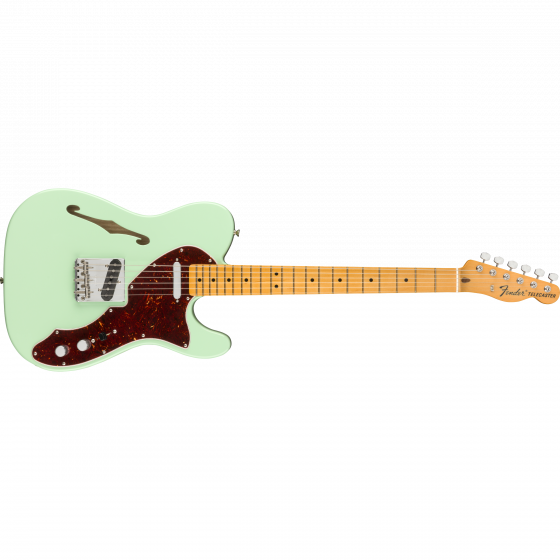 American Original 60s Telecaster® Thinline, Maple Fingerboard, Surf Green