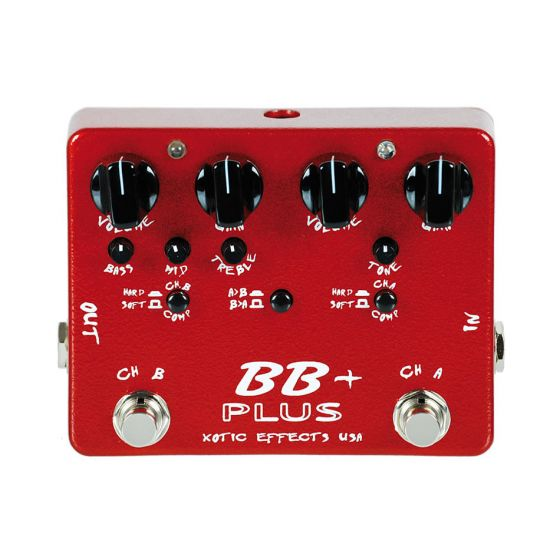 Xotic BB Plus Guitar Effects Pedal