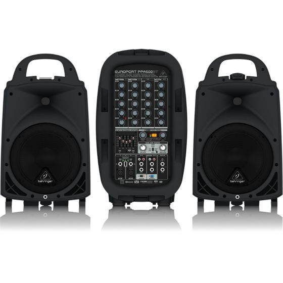 Behringer PPA500BT 500W 6-Channel PA System