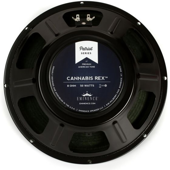 "Eminence Cannabis Rex Patriot Series 12"" 8 Ohm Speaker - USED"