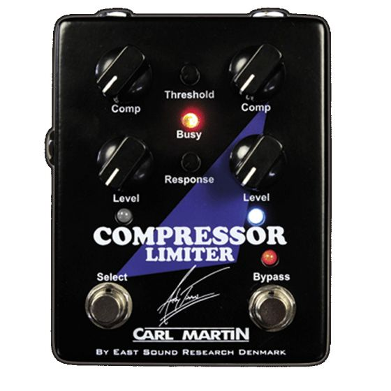 Carl Martin Andy Timmons Signature Compressor Limiter Guitar Effect Pedal