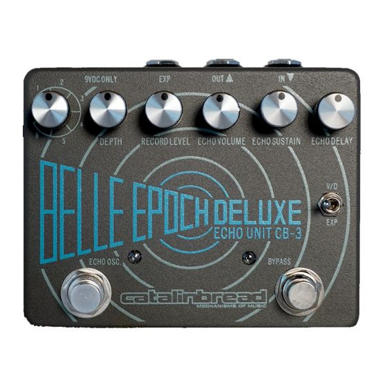 Catalinbread Belle Epoch Deluxe Delay Guitar Effect Pedal