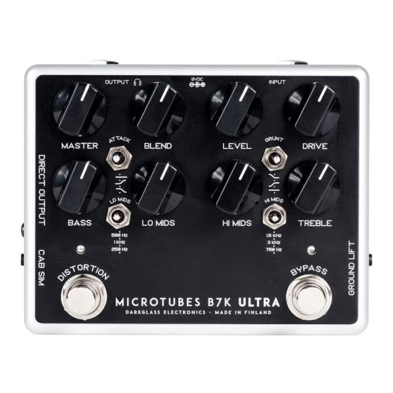 Darkglass Microtubes B7K Ultra Effect Pedal V2 with Aux In