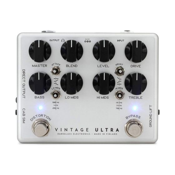 Darkglass Vintage Ultra V2 Tone Elixir Effect Pedal with Aux In