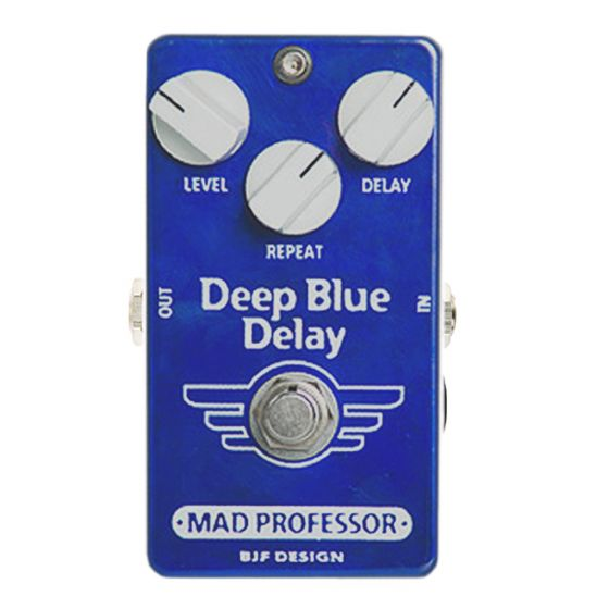 MAD PROFESSOR Deep Blue Delay Guitar Effects Pedal DEMO