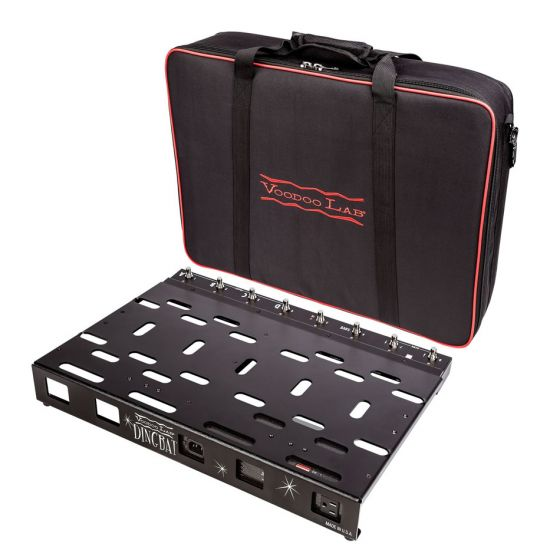 Voodoo Lab Dingbat PX Pedalboard Power Package w/ PX-8 PLUS & Pedal Power Mondo with bag