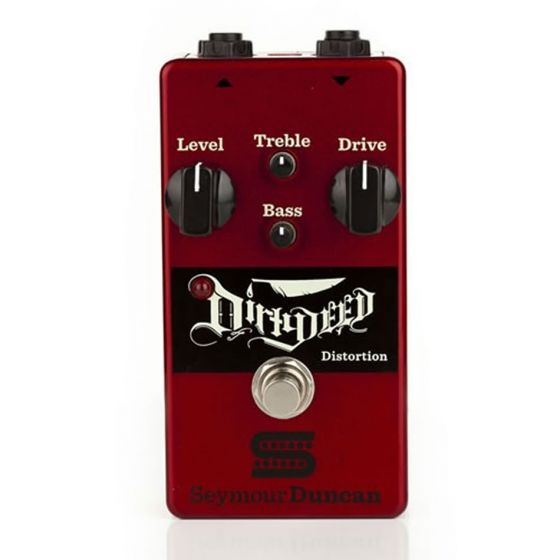 SEYMOUR DUNCAN The Dirty Deed Distortion Pedal  front