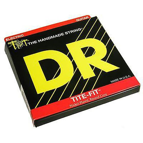 DR Strings Tite-Fit Nickel Plated Electric: 10, 13, 17, 26, 36, 46, 56