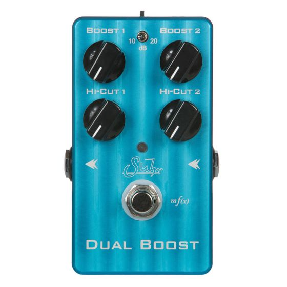 SUHR Dual Boost Transparent Clean Boost Guitar Effect Pedal