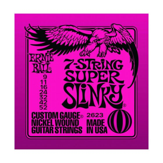 Ernie Ball 7-string Super Slinky Nickel Wound Electric Guitar Strings