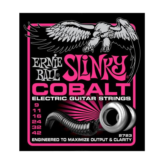 Ernie Ball Cobalt Super Slinky Electric Guitar Strings