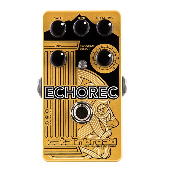 CATALINBREAD Echorec Multi Tap Echo Delay Guitar Effect Pedal