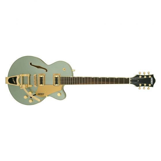 Gretsch Electromatic® Center Block Jr. Single-Cut with Bigsby® Aspen Green and Gold Hardware