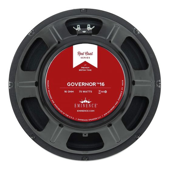 Eminence The Governor 16 Guitar Speaker (12 Inch, 16 Ohms)