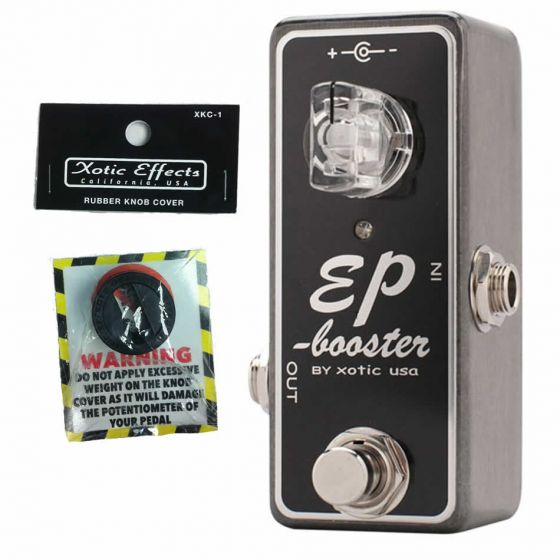 Xotic EP Booster Effect pedal With XKC-1 Knob Cover