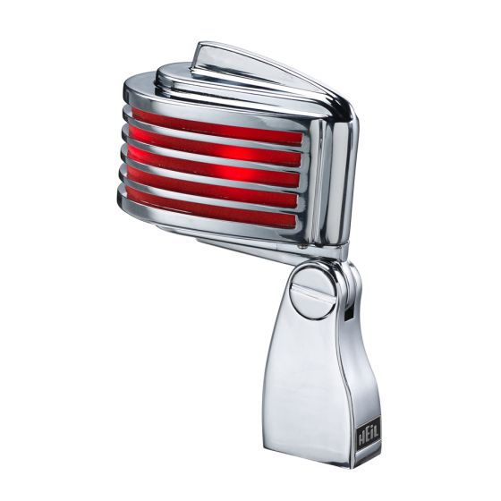 HEIL SOUND The Fin Dynamic Chrome Vocal Microphone Red