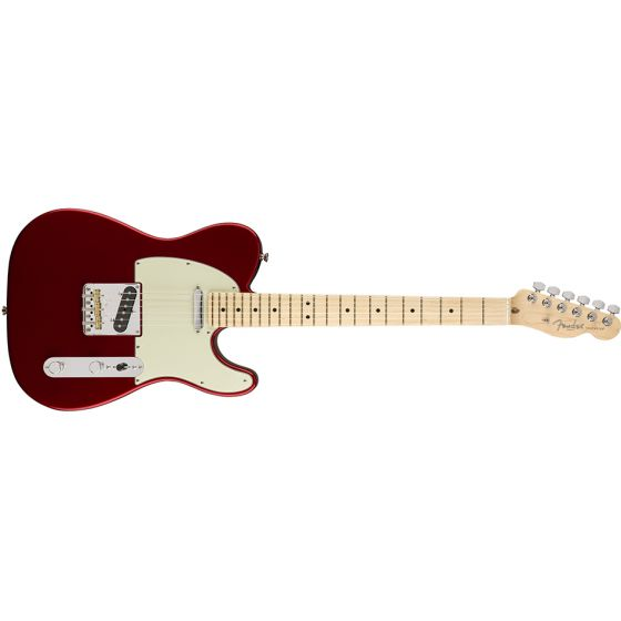 Fender American Professional Telecaster Electric Guitar Maple neck, w/case Candy Apple Red