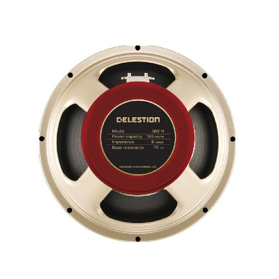 Celestian G12H-150 Redback Guitar Speaker 8ohm 150W rear up and down