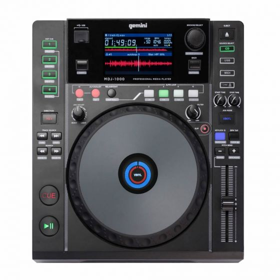 GEMINI-MDJ-1000-PRO-DJ-MEDIA-PLAYER-CD-MP3-USB-MIDI-Authorized-Dealer