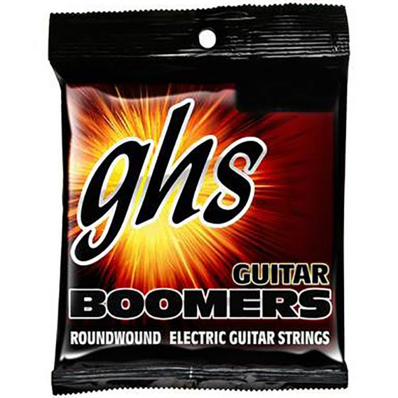 GHS Guitar Boomers Roundwound Electric Guitar Strings Light + 1/2