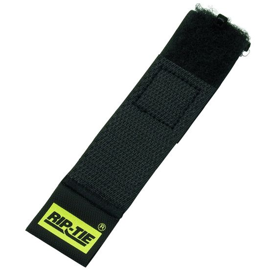 Rip-Tie Cable Wrap 1x6, 10-Pack, Black