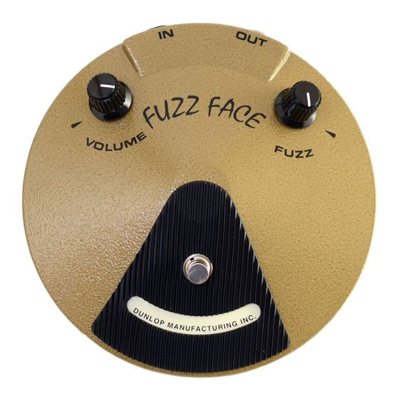 Jim Dunlop EJ-F1 Eric Johnson Signature Fuzz Face Effect Pedal Gently Used