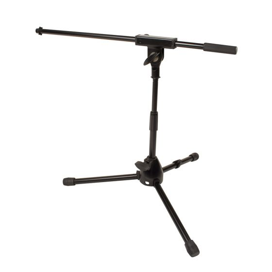 JAMSTANDS Low-Profile Mic Stand with Boom JS-MCFB50