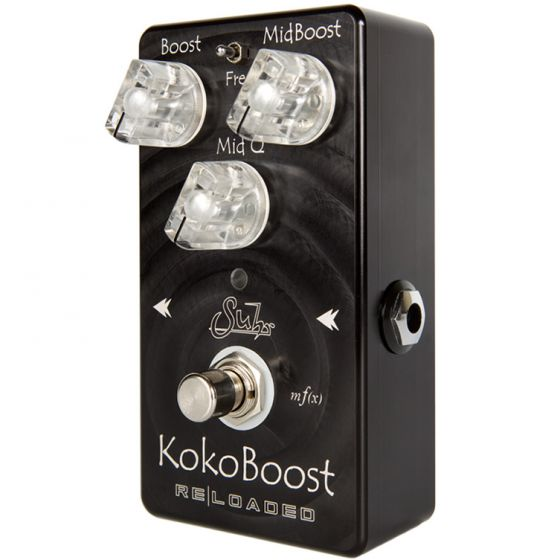 Suhr Koko Reloaded Clean Mid Range Boost Pedal NEW