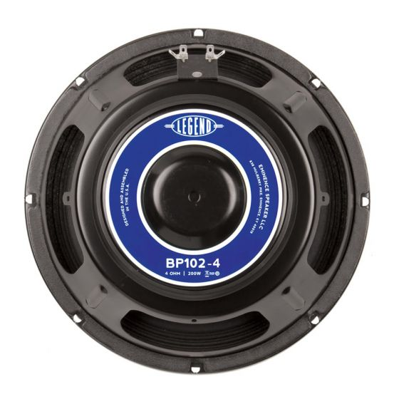 "Eminence LEGEND BP 102-4 10"" 4-Ohm 200W"