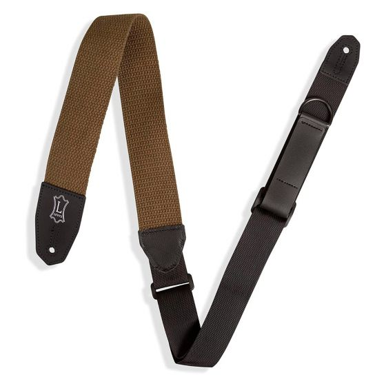 Levy's MRHC-GRN Cotton Guitar Strap - Green