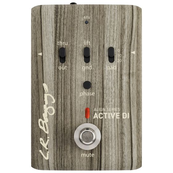 L.R. Baggs Align Series Active DI Acoustic Guitar Effects Pedal