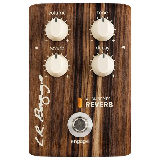 L.R. Baggs Align Series Reverb Acoustic Guitar Effects Pedal