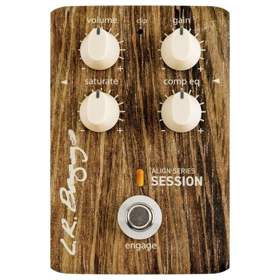 L.R. Baggs Align Series Session Acoustic Guitar EQ Pedal
