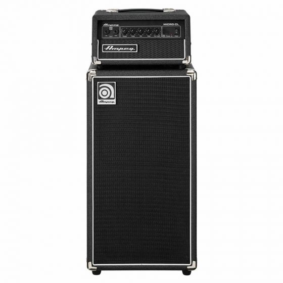 AMPEG Micro-CL Bass Guitar Stack 100 Watts front