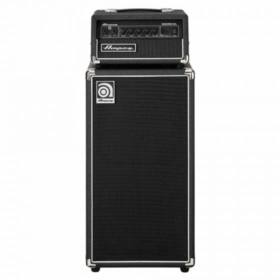 "Ampeg Micro-CL Bass Guitar 2x10"" Mini-Stack 100 Watts"