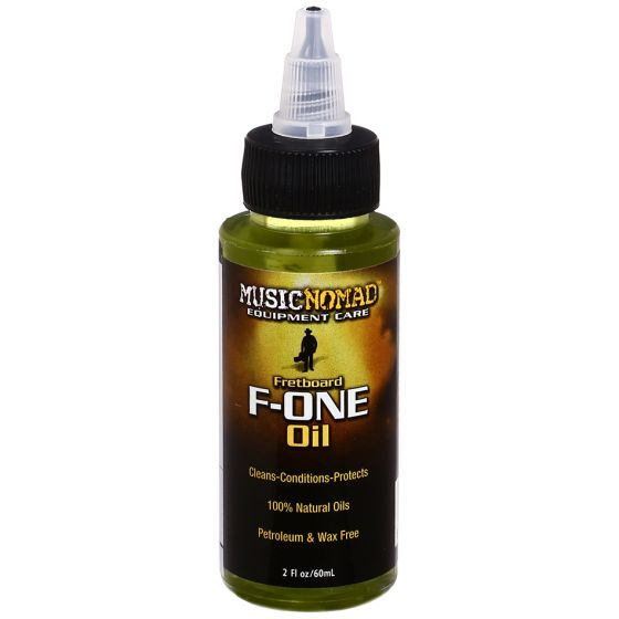 MusicNomad Fretboard F-ONE Oil Cleaner & Conditioner